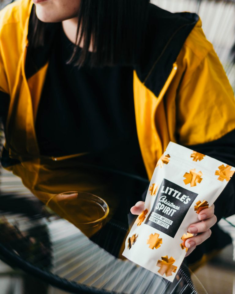 We Are Littles - coffee packaging