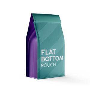 FLAT BOTTOM POUCH - LOW MOQ