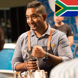 Ishan Natalie is an MTPak Coffee Ambassador from South Africa