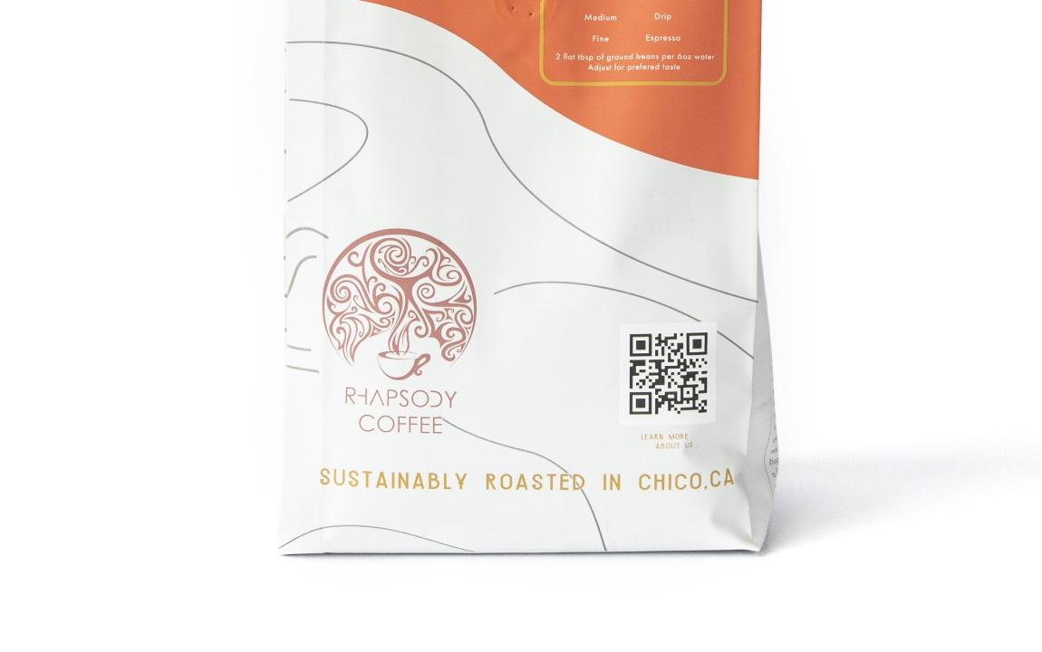 qr code rhapsody coffee