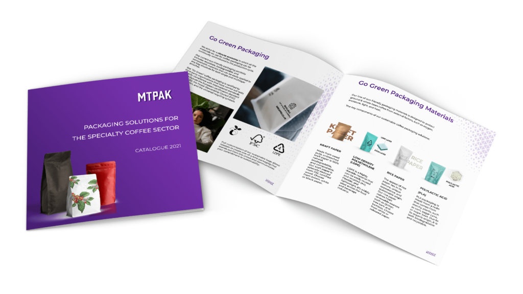 Download our coffee packaging catalogue 2021