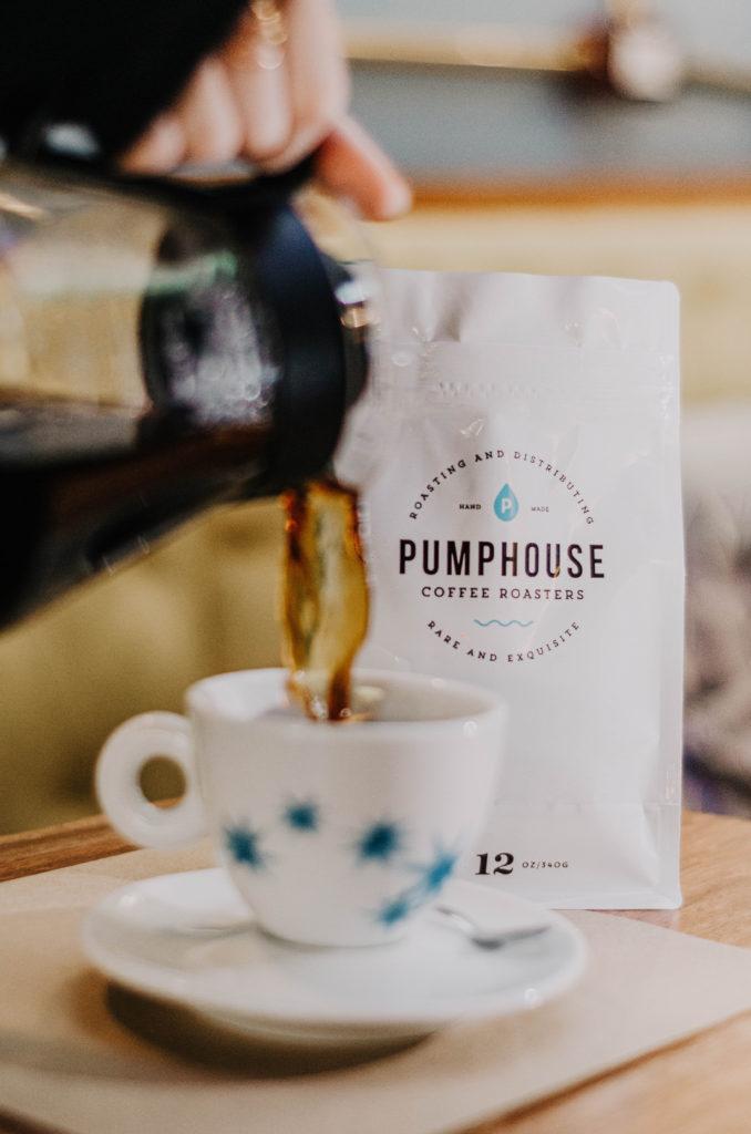 Pumphouse Coffee Roasters café