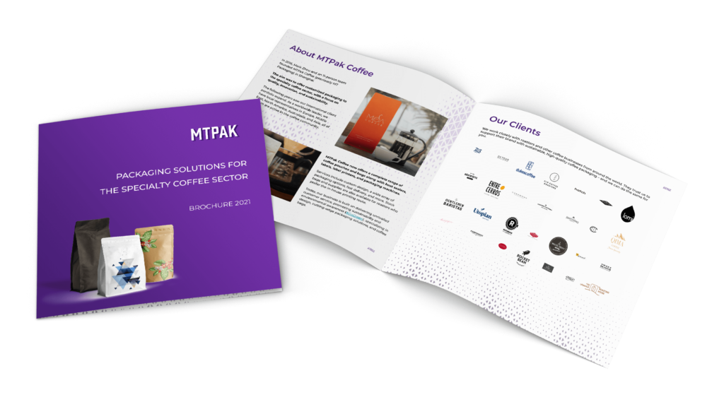 Download our corporate brochure for coffee packaging