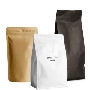 Pide los empaques de bajo MOQ con logo personalizable
