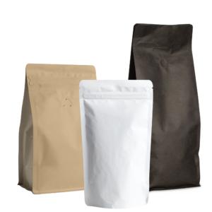 Pide nuestros empaques para café de bajo MOQ de stock.