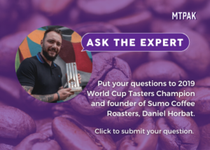 Ask Daniel Horbat, 2019 World Coffee Tasters Champion