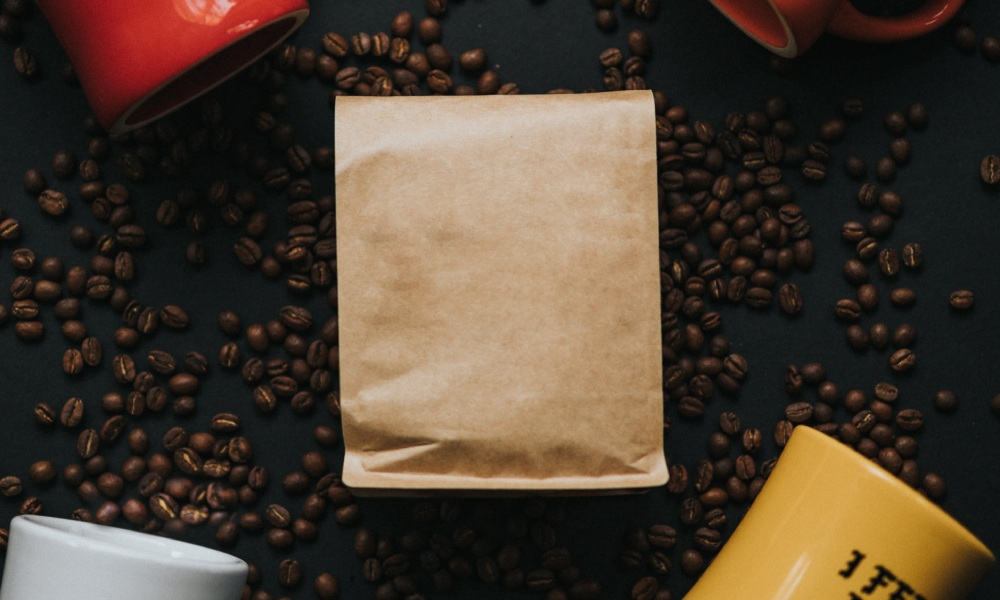 coffee packaging size