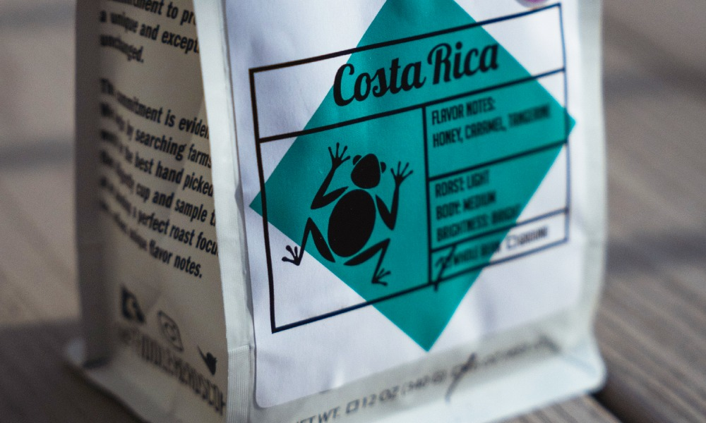 How can specialty coffee roasters speed up the labelling process?