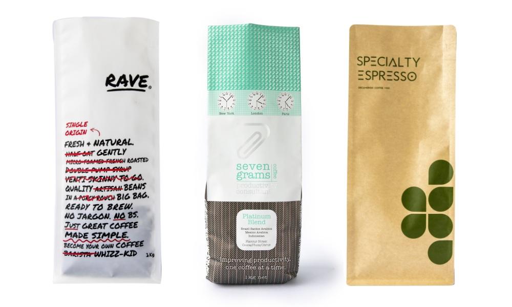 Coffee bag design inspiration: Materials