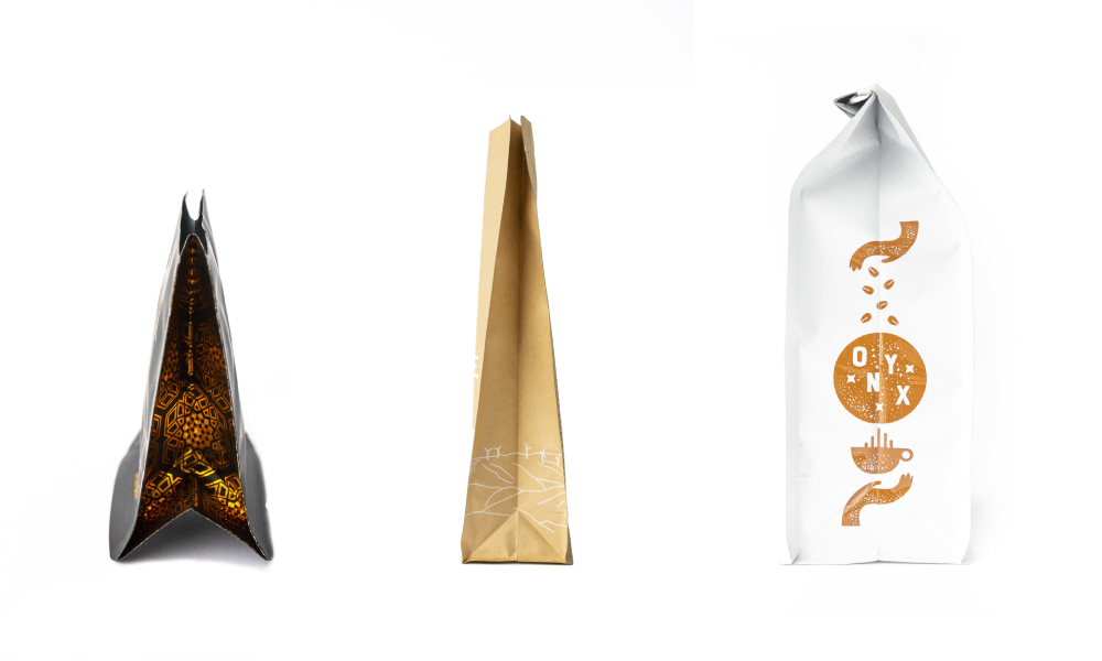 Coffee bag design inspiration: Pouch types