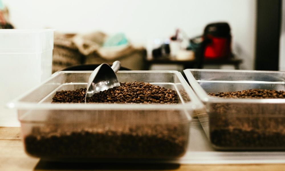 pre-blend post-blend coffee