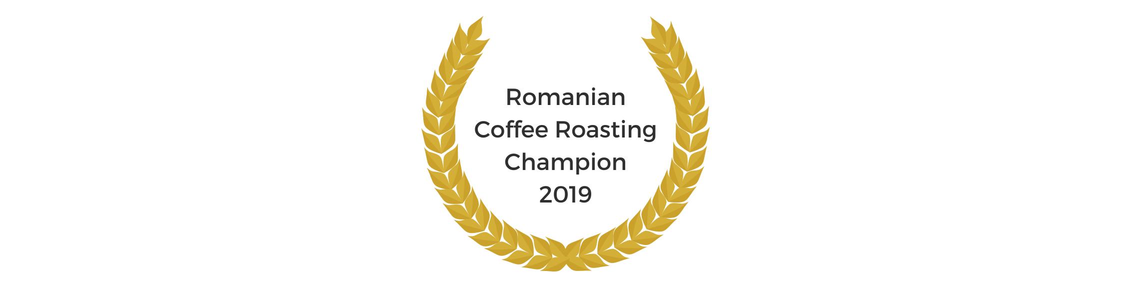 Romanian coffee roasting champion
