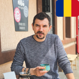 Bogdan Georgescu is an MTPak Coffee Ambassador from Romania