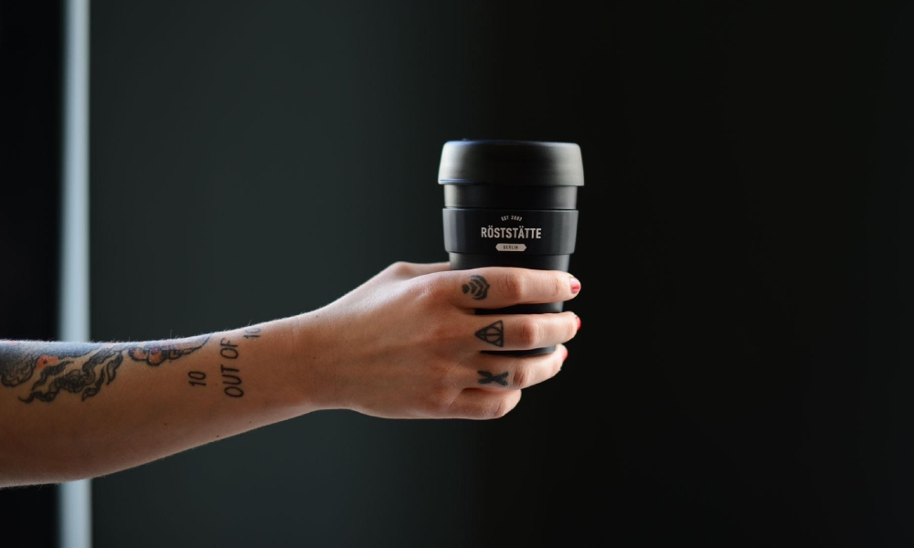 roststatte reusable coffee cup