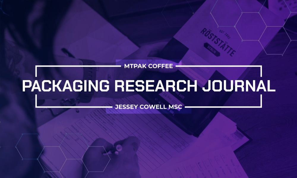 The role of degassing valves in the storage of roasted coffee
