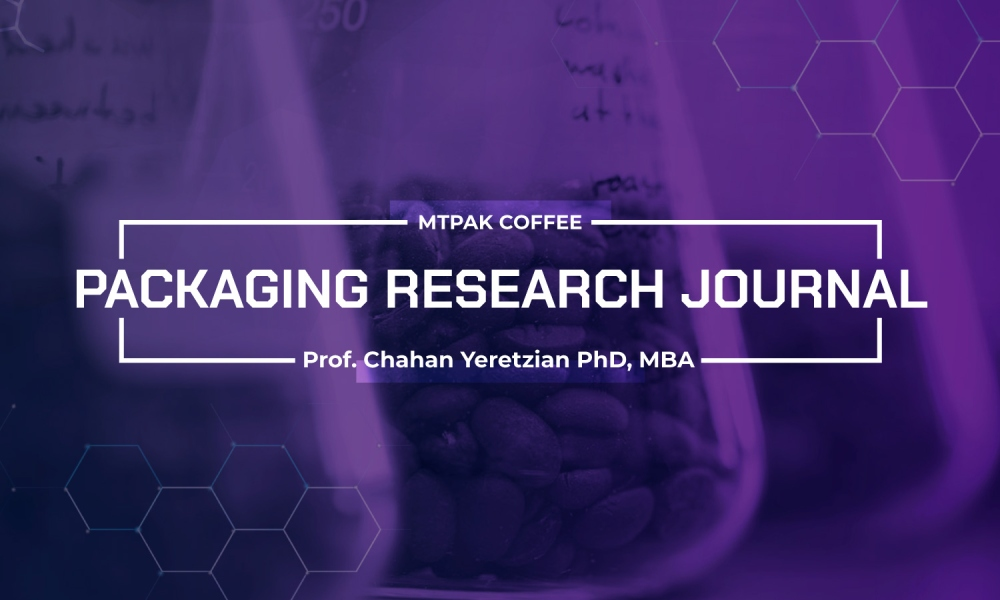 Measuring the freshness of roasted coffee stored in packaging: A quantitative study