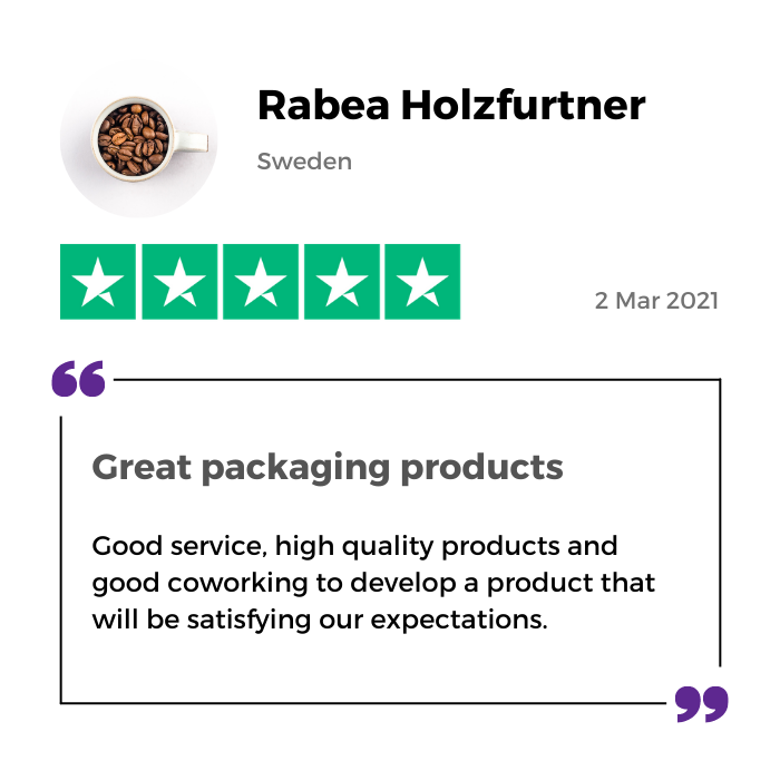 Review of MTPak Coffee by Rabea Holzfurtner from Sweden